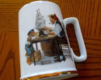 1985 Rockwell For a Good Boy Mug Near MINT