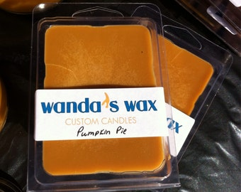 Pumpkin Pie scented soy melts pack