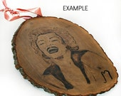 Your Custom Wood Burned Sign for Weddings, Gifts, Hobbies, Quotes, Anniversary, Personalized, Natural Bark Edges