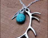 Antler Necklace, Hunting Necklace