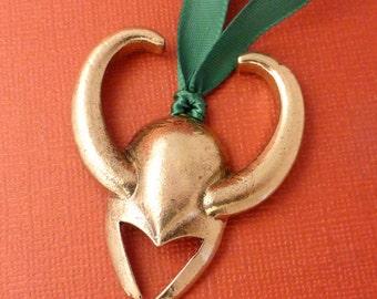 Thor Inspired - Loki's Helmet Ornament - READY to SHIP