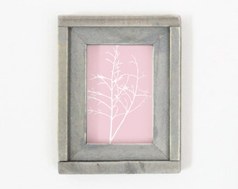 5x7 Wood Picture Frame Housewarming Gift Wedding Gift Rustic Decor
