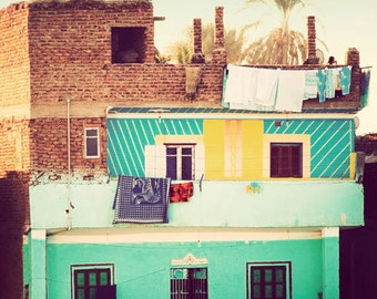 Home - Egypt photograph, travel photography, fine art photo, cheerful, exotic, Egyptian decor, Africa wall art