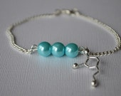 Biolojewelry - Customizable Neurotransmitter Pearl Bracelet