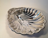 Scalloped Edge Silver Plate Serving Bowl by Wm. B. Rogers