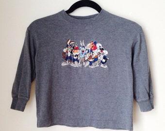 Looney Tunes Football T-Shirt Children's Size 4