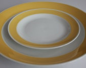 "Retro Arabia Finland ""Atria"" pattern set of 4 plates"