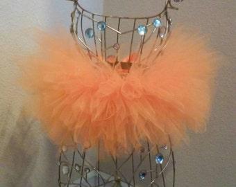 Baby Bright Orange Tutu Skirt