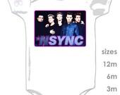 NSYNC (N'Sync) Cute Onesie