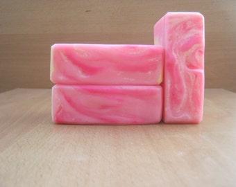 Bulk buy handmade soap. Lotus Blossom soap, Flower luxury artisan soap, 10 handmade soap wholesale discount