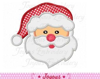 Instant Download Christmas Santa Claus Embroidery Applique Design NO:1630