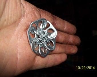 Pop tab flower