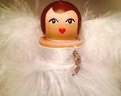 Masquerade angel ornament
