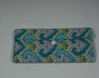 Damask Diaper Clutch and Changing Pad