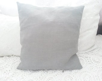 Grey linen pillow cover, grey linen cushion, cushion cover, pillow cover, grey pillow, grey cushion, French Nordic, gray, grey, cottage chic