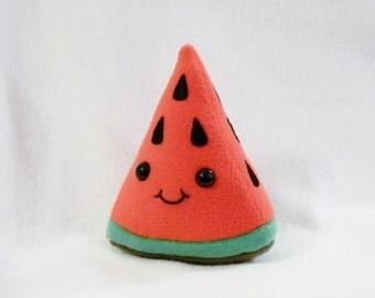 Watermelon plush toy play food