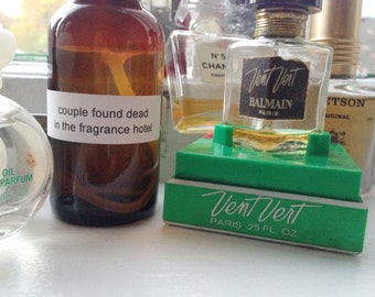 the couple found dead in the fragrance hotel cologne + unisex + natural witch hazel base + spikenard + leather + masculine + smoky