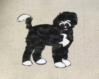 Pet Portraits on Fabric, Dog Portraits, Cat Portraits, Portrait of your Pet, Personalized Pet Portrait, Great Gift Idea