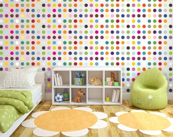 Lil' Cloud - Cute Wall Dots (Vinyl Decal Removable Stickers)