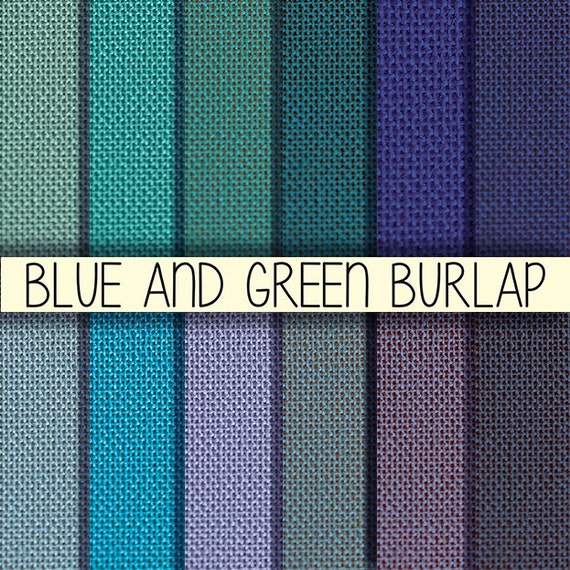 Blue Corporate Stationary Pack By Betty Design: Blue And Green Burlap