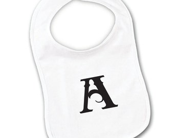 Custom Embroidery Baby Bib Your Choice Print or Text