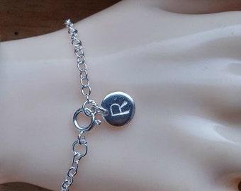 Personalized Charm  Bracelet, Charm bracelet, Name bracelet, Gift for her, Initial bracelet, Initial jewelry, Bracelet Bangle