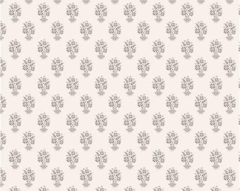 Tilda Fabric Ornament Gray - Fat Quarter (55cm x 50cm)