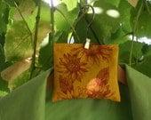 Sunflower  Lavender hanger sachet
