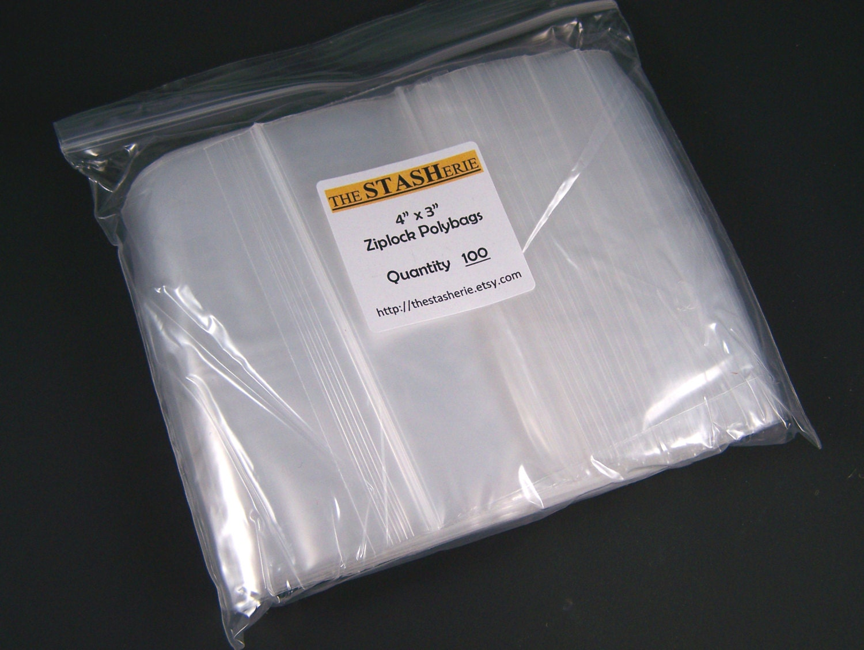 recloseable poly bag 1000 4 quot x 3 quot clear plastic ziplock