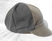 Cycling Cap, Cotton, 8 Panel, Size Lg/Xl