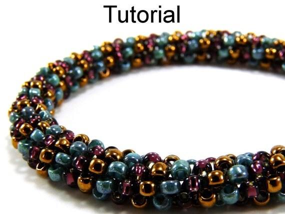 easy beginner beading patterns tubular peyote jewelry