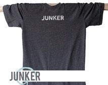 UNISEX Soft Blend Tee   Junker Tee   Dumpster Diver   Junking   Thrift Shopper   Bargain   Thrift Shop   Yard Sale   Garage Sale   Auction