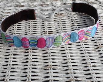 Pastel Easter Egg Headband - Girls Holiday Headband