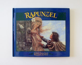 Rapunzel Story Book, Fairy Tale Book, Brothers Grimm Fairy Tale, Children's Book