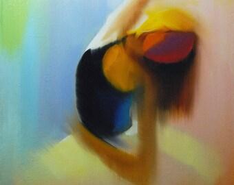 Ballerina Poster Dancer Art, Modern Art Print of Ballerina Painting, Home Decor Ballet Gift