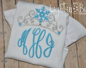 Ice Queen Monogram Shirt