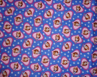 Purple/Pink Sophia Cotton Fabric