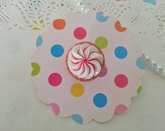 Peppermint Twist Ring - Sweet Lolita Cute Kawaii