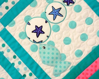 "Child's ""I Spy"" Quilt Pattern: I Spy the Sea"