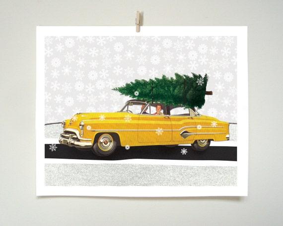 Scottish Holiday Art Print