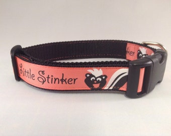 Little Stinker dog collar