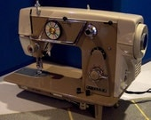 Restored by Stagecoach Road, Nelco Lyra Japanese Sewing Machine w/Guaranty and Free Shipping