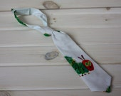 Ready to ship! Very Hungry Caterpillar adjustable child necktie