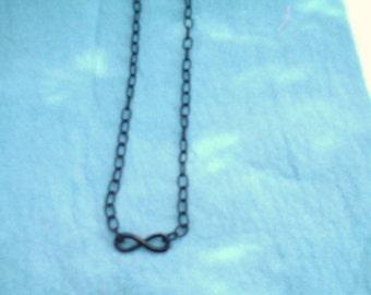 Infinity  Necklace  / women's jewelry / teen jewelry / jewelry / men's jewelry / black infinity / men / women / boys jewelry