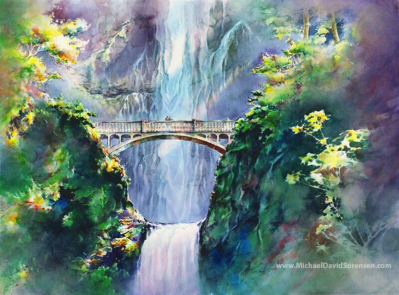 Spray Painting A Bridge