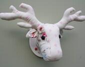 Faux Taxidermy stuffed stags head wall decor