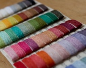 Sample Card - 66 colors LINEN yarn