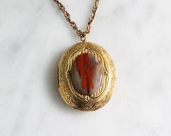 Vintage Brass Locket