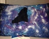 Wolf Silouette Galaxy Pillowcase