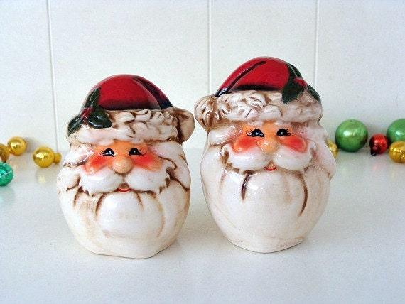 Vintage Santa Claus Salt Amp Pepper Shakers